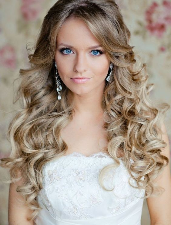 Strange Curly Wedding Hairstyles Long Curly Hairstyles And Long Curly Short Hairstyles Gunalazisus