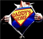"Shirts for Fathers, Mothers and more! It's the official ""Daddy's Home"" comic store! Stay-at-home Dad or Mom... or not! Here's swag for the man or woman who has it all! For more information and to read ""Daddy's Home"" visit, www.daddyshomepage.com."