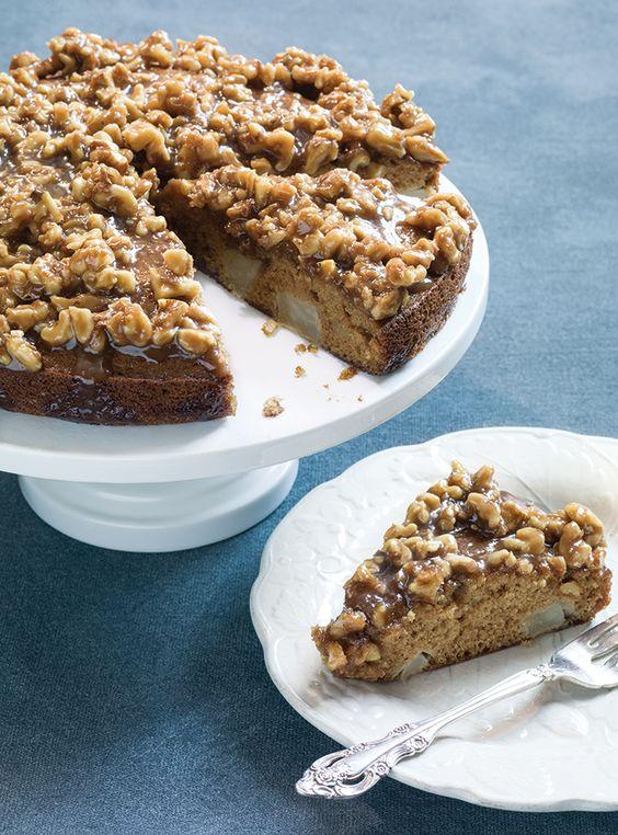 Pear-Walnut Sticky Cake - Williams-Sonoma Taste