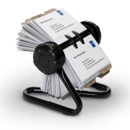 http://ift.tt/1RZAPcp Relaxdays Rollkartei mit Metallständer und 200 Visitenkartenhüllen inkl. 24-teiligem A-Z Register ! salesviiko@