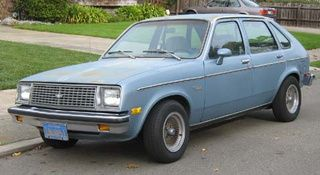 1979 Chevrolet Chevette Chevy Muscle Cars Chevy Hatchback