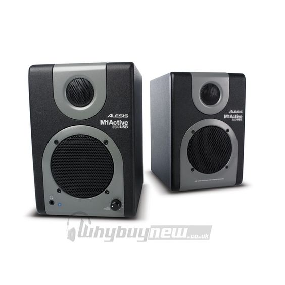 Alesis M1 Active 320 USB Studio Monitors Speakers Pair  http://www.whybuynew.co.uk/speakers/alesis-m1-active-320-usb-studio-monitors-speakers.htm