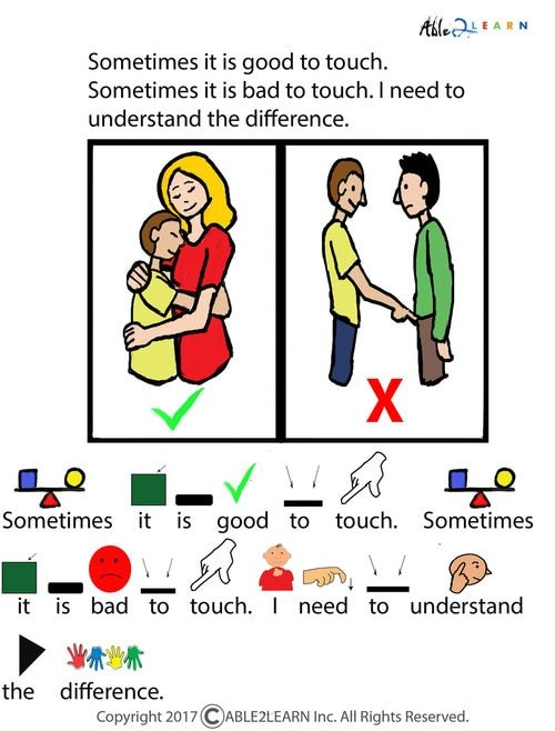 Different Types Of Touching Social Story Pages 21 Social Stories Teaching Life Skills Social Scripts