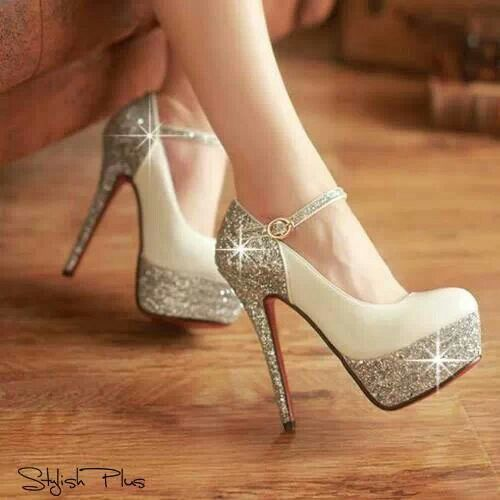 Sparkly high heels | Shoes | Pinterest | Sparkly high heels, Devil ...