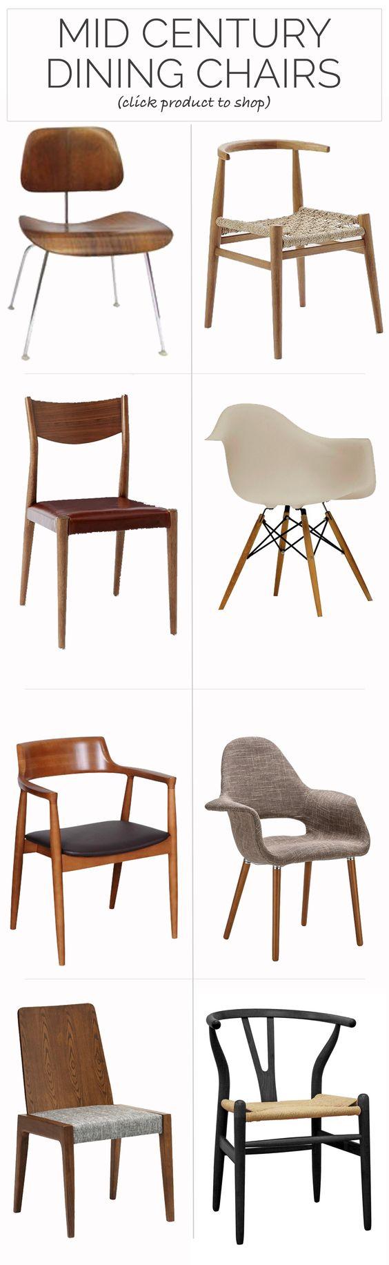 The Best Mid Century Dining Chairs - @mystylevita