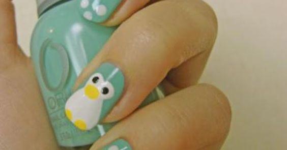 10 tutoriales de pintar uñas con animalitos