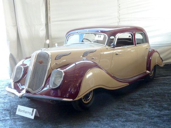 1937 Panhard X76 Dynamic 4-Dr. Sedan