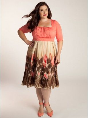 Lavinia Plus Size Dress - Day Dresses by IGIGI Model Info: Wearing ...
