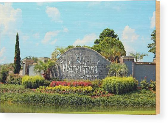 Architectural Wood Print featuring the photograph Waterford Village by Cynthia Guinn