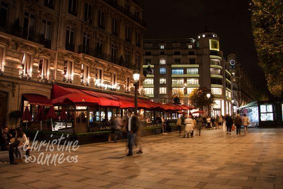 Fouquet's, on avenue Champs-Élysées; seen in the movie Taken. | Paris Travel