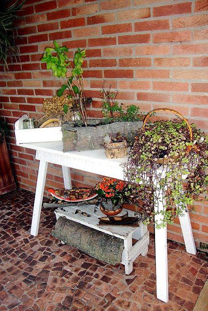 Cantinho das plantinhas, via Flickr.