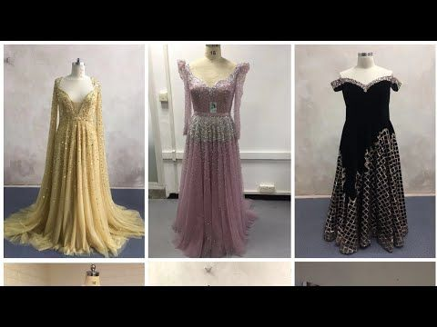 مجموعة فساتين سهرة وخطوبه من تنفيذنا 2020 Youtube Evening Dresses Dresses Formal Dresses