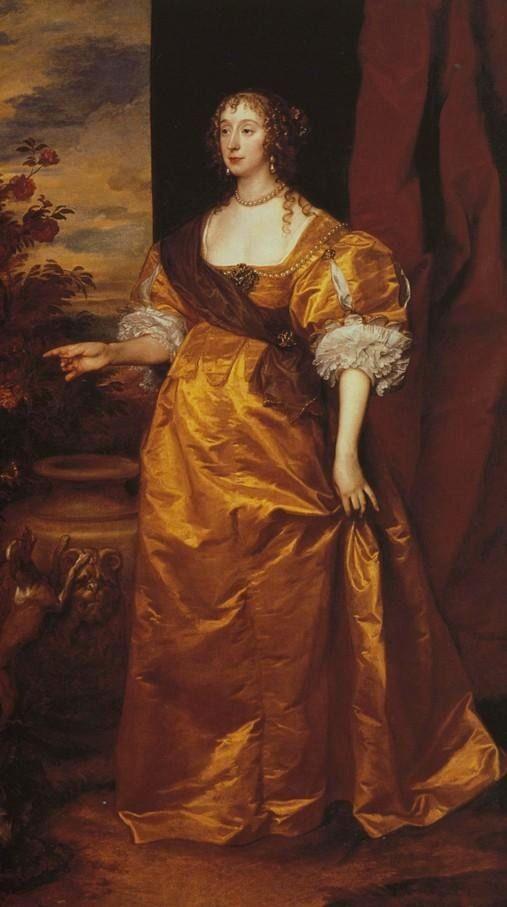 1638 'Anne Killigrew' by Sir Anthonis Van Dyke -- #1600s courtly #fashion