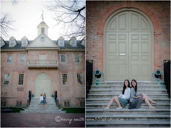college senior girl. senior poses. natural pose. sibling pose. The College of William and Mary. kerry b smith photography Richmond and Williamsburg, Virginia Children and Family Photographer www.kbsphoto.com