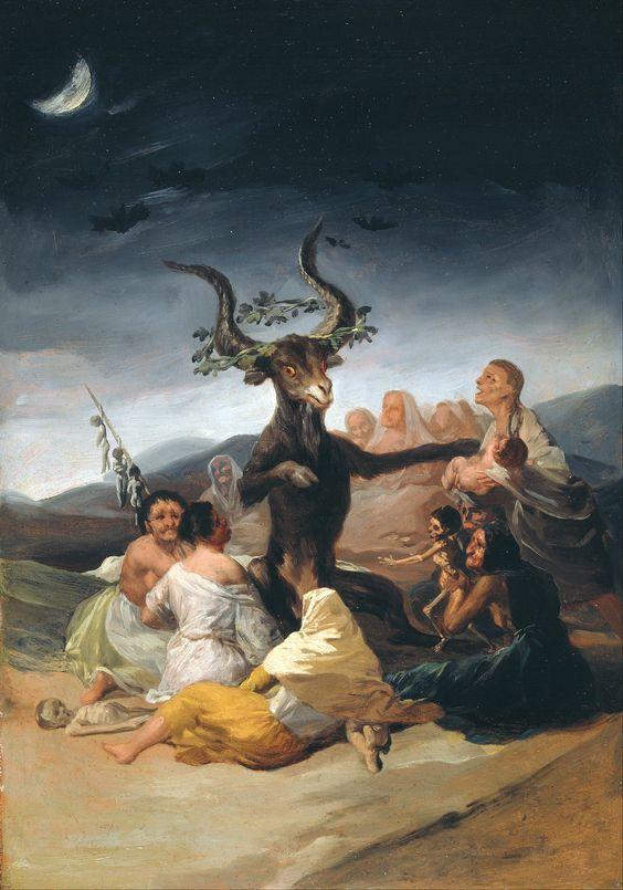 El aquelarre, de Francisco de Goya