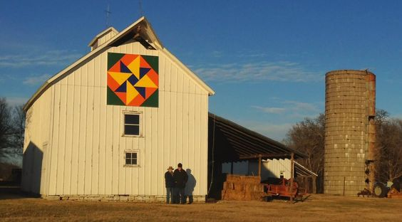 Double Dutch Windmill - Kansas Flint Hills Quilt Trail