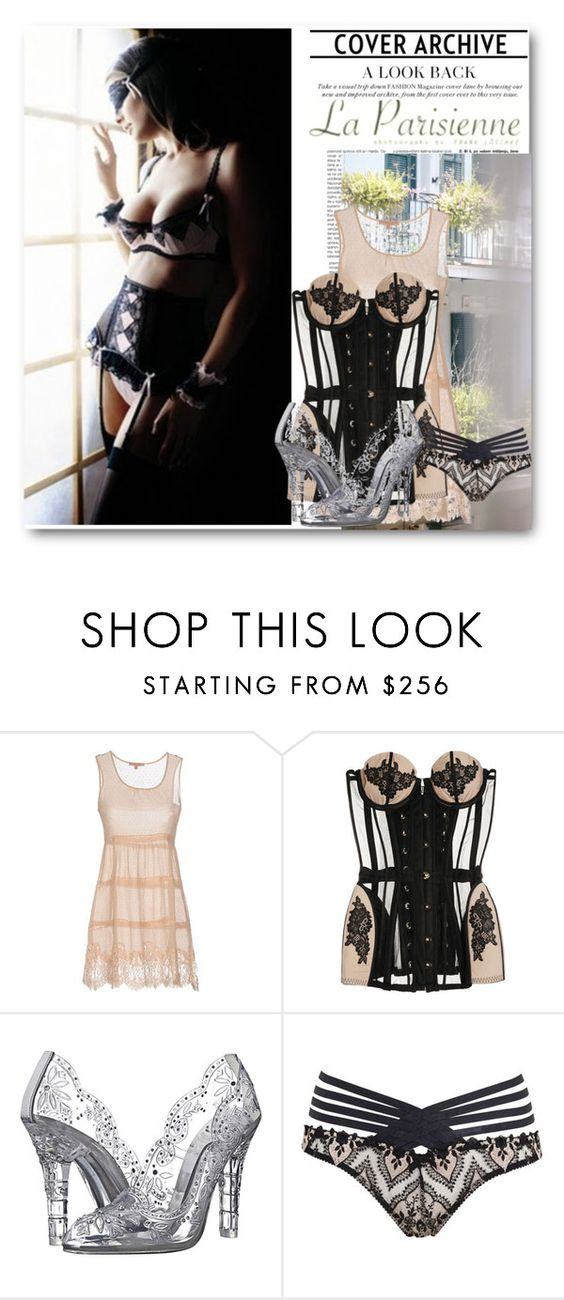 """Cinderella Underneath"" by itgirl2010 ❤ liked on Polyvore featuring Thomsen Paris, Ermanno Scervino Lingerie, Agent Provocateur, Dolce&Gabbana and cinderella"