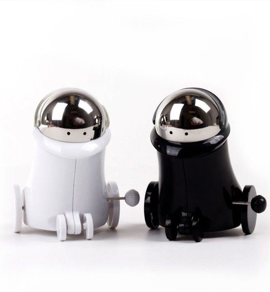 The o 39 jays robots and salts on pinterest Salt and pepper robots