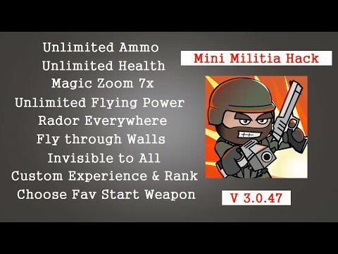 Hack mini militia Android 용