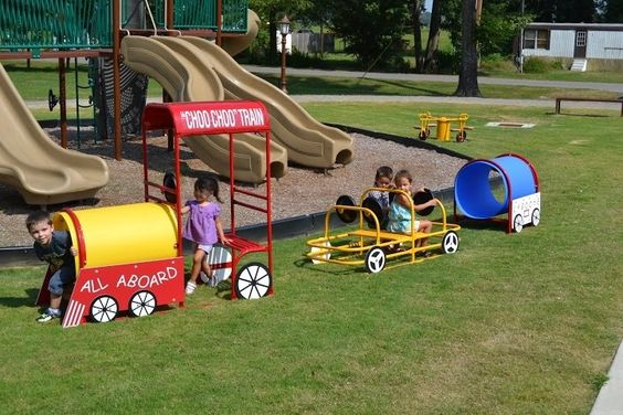"""Playground Train Engine- Say """"All-Aboard"""" with this fun Train Engine for imaginative role play with for your kids! Can fit up to 3 children. The fully assembled train is portable or permanent and perfect for indoor and outdoor use. It features one crawl tube, steering wheel and benches, and is the basis for theme learning from geography to life skills. Add it to the Passenger Car and Caboose to make a complete set! Can purchase all three as a set (Train Engine, Passenger Car and Caboose) as…"""
