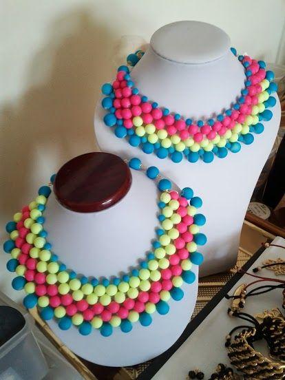 Maxi Collar Neon