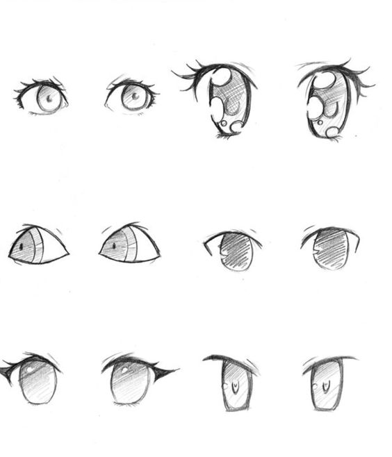 References For Anime Eyes