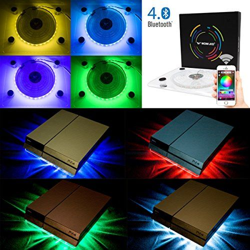 Cheap Wowled Bluetooth Wireless Control Pc Case Cooling Fan Usb
