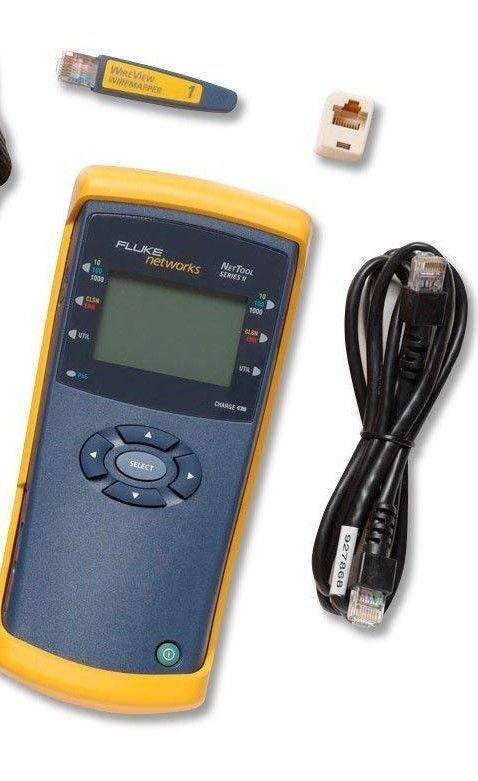 Computer Cable Testers 58300 New Fluke Networks Nettool 10 100 Cable Tester Buy It Now Only 850 On Ebay Computer Cable Ebay Computer Cables Cable