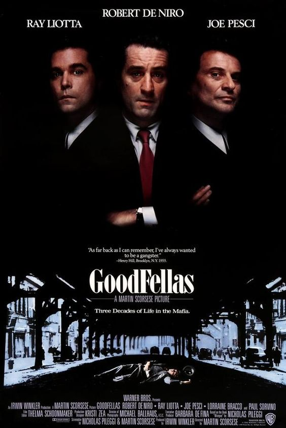 Goodfellas (1990) Original One-Sheet Movie Poster