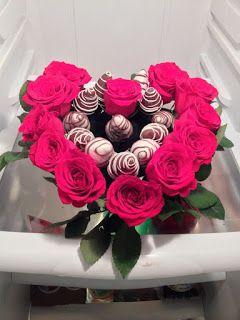 Cómo hacer ramo de fresas con chocolate para regalar ~ lodijoella