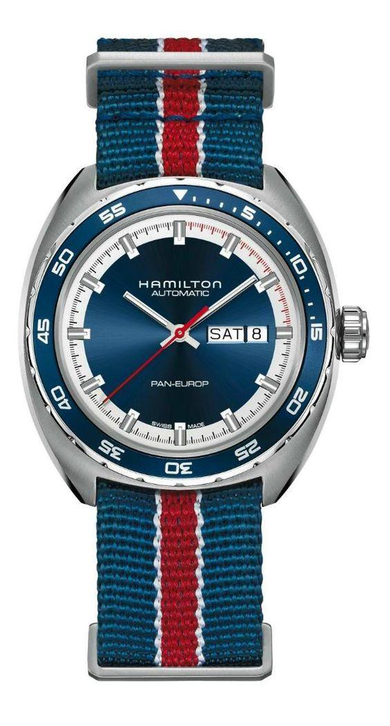 TimeZone : Industry News » N E W M o d e l - Hamilton Pan Europ Sport