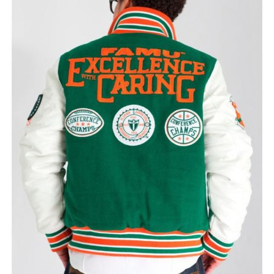 Florida A&M University Motto Varsity Jacket