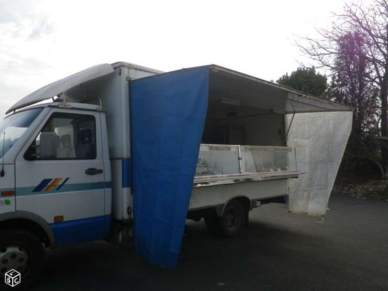 Camion magasin vasp iveco 49.10 1996