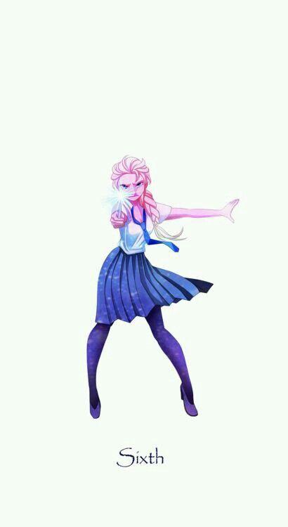 Elsa, Harry Potter AU