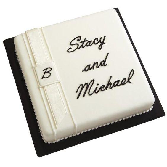 A Formal Invitation Cake