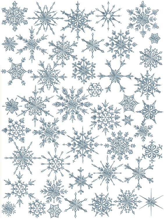 Snowflakes heaven