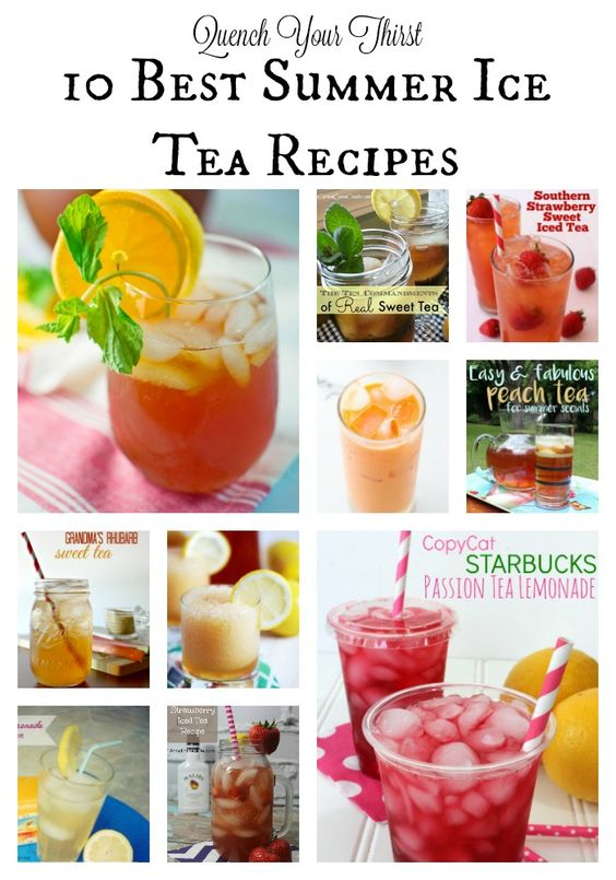 Summer ice and simple on pinterest for Easy fruit tea recipe
