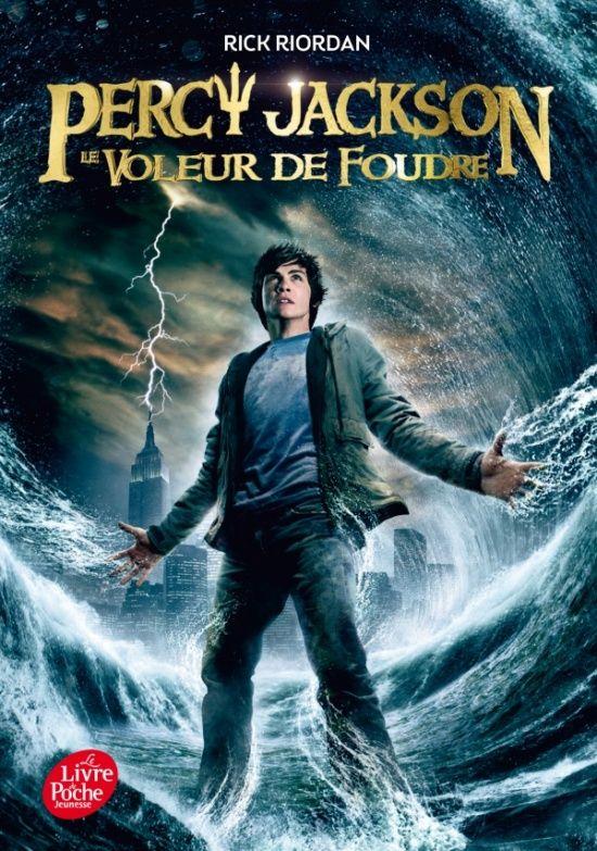 Rick RIORDAN - Percy Jackson 1 Le Voleur de foudre