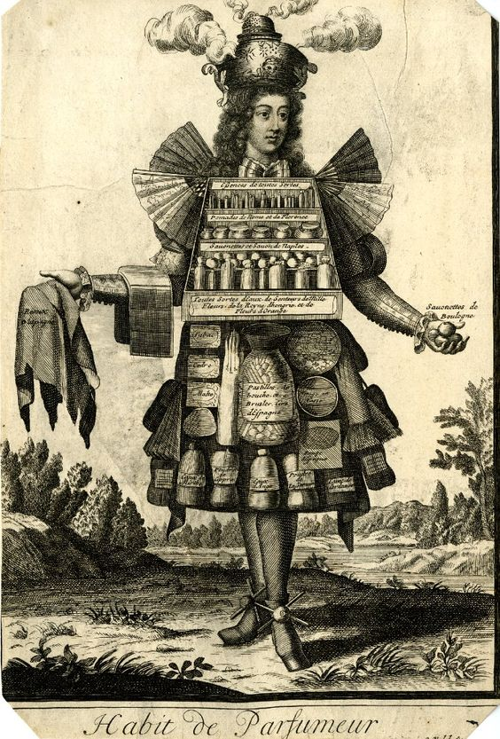 Nicolas-Larmessin-Costumes-Grotesques-Habit-metier-15 - La boite verte