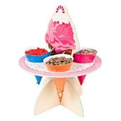 Ice Cream Topping Stand - Cake Decorating Supplies  Cupcake Stands