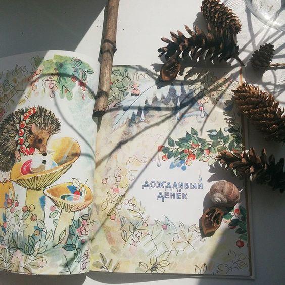 Одна из моих любимых книжек и трофеи из ботанического сада. А день, кстати, сегодня солнечный! #книги_тоут #детскиекниги #издательство_речь