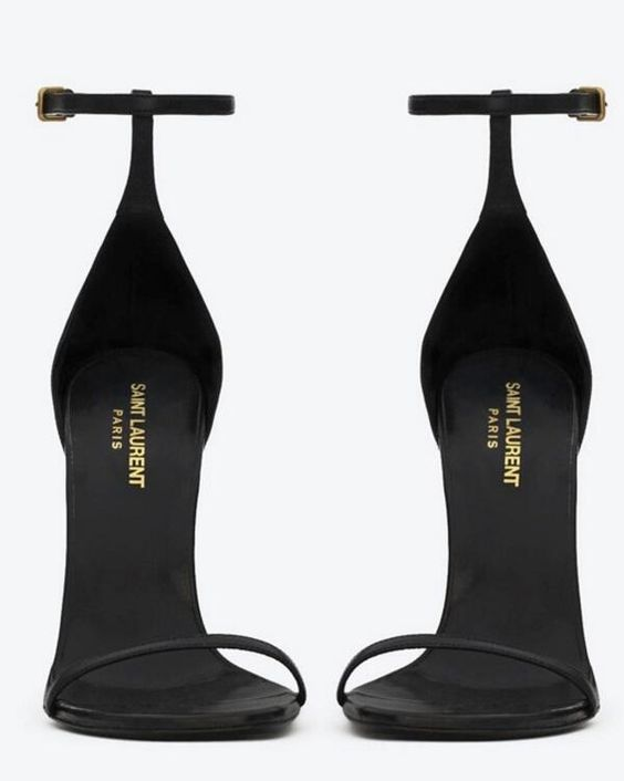 Saint Laurent heels classiness: