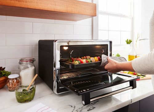 Kitchenaid Convection Toaster Pizza Oven Black Matte Kco255bm
