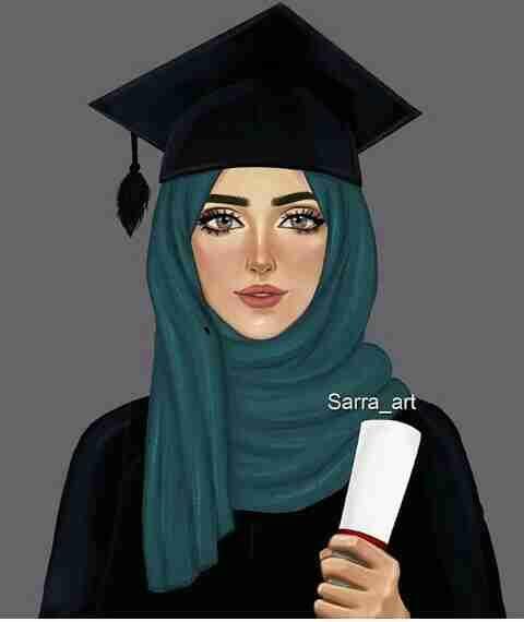 هل تعلم زاكي Hijab Drawing Girly Drawings Sarra Art