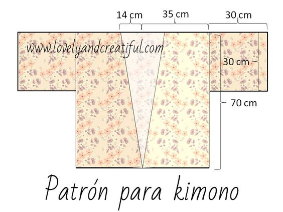 Patrón_kimono