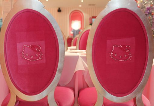 Adoro Lilás Blog no Canada: Restaurante da Hello Kitty em Beijing