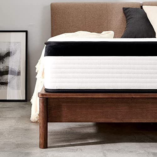 Best Seller Queen Mattress Molblly 12 Inch Innerspring Mattress Box Ultimate Motion Isolation Individually Wrapped Pocket Coils Mattress Certipur Us Certif In 2020 Innerspring Mattresses Queen Mattress Best Mattress