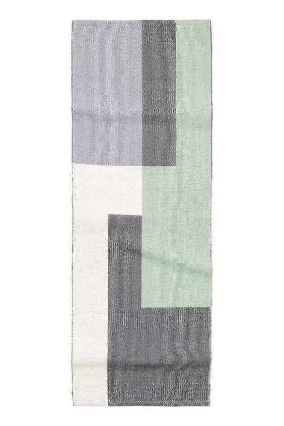 Teppich mit Jacquardmuster | H&M