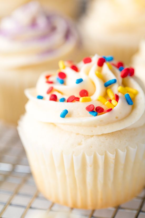 The Most Amazing White Cupcakes Recipe Cupcake Recipes White Cupcake Recipes Cupcake Flavors
