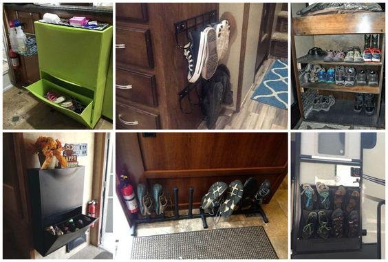 Shoe Storage for Small Spaces - Learning from RVers